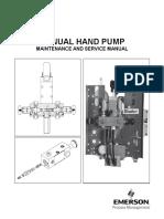 Hand Pump Service Manual