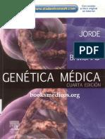 Genetica Medica 4ta Ed Jorde Carey Bamshad