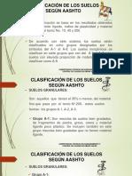 Clasificación de Los Suelos Según Aashto[1]