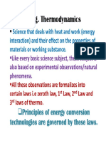 Introduction to Engg. Thermodynamics