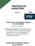 Capítulo 5 Estrategia de Marketing