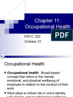 s Occupational Health