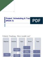 SchedulingTracking RL