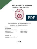 Informe 1 Materiales 2