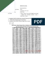 Data DDST Tasya 60 Bulan