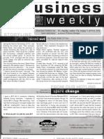 Business Weekly Newsletter, August 13, 2010 - Parshah Shoftim 5770