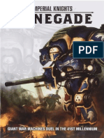 Imperial Knight - Renegade - Rulebook