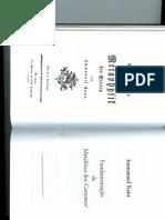 KANT, I. - Fundamentação da Metafísica dos Costumes (Prefácio e Seção 1).pdf