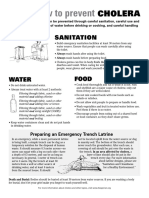 En Cholera Factsheet 2016