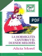 La Hormiguita Cantora y El Duende Melodia