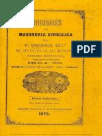 Nociones de Masoneria y Simbolica