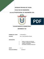 Topografia 2 Informe 1 Final Final Fififififinalisimo