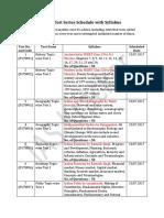 IAS Kracker 2018 Test Series Schedule