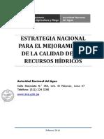 Autoridad Nacional del Agua 2005 Recuperación Hídrica