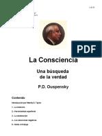 Ouspensky PD - La Conciencia