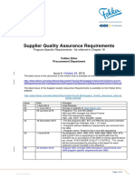Supplier Quality Assurance Requirements-Appendix Program Specific Requirements Rev6