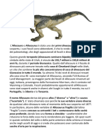 principali dinosauri