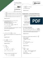 Física - Caderno de Resoluções - Apostila Volume 1 - Pré-Universitário - Física4 - Aula01