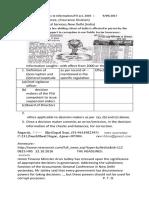 90917 Online RTI Application