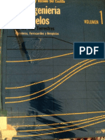La Ingenieria de Suelos en Las Vias Terrestres - Carreteras, Ferrocarriles y Aeropistas - 1era Editicion