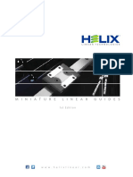 Helix Miniature Linear Guides Catalog
