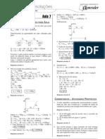 Física - Caderno de Resoluções - Apostila Volume 2 - Pré-Universitário - Física1 - Aula07