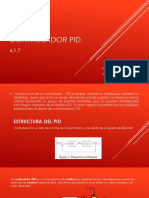 4.7 Controlador PID