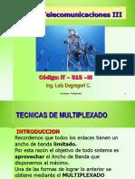 Curso Telecom III - 2014-2 Multiplexado