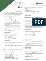 Física - Caderno de Resoluções - Apostila Volume 2 - Pré-Universitário - Física1 - Aula10