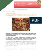 Curso de arte e historia renacentista - Unidad didáctica 1
