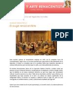 Curso de historia y arte renacentista - Unidad didáctica 2