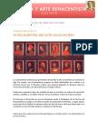 Curso de historia y arte renacentista - Unidad didáctica 3