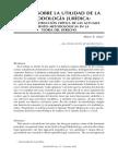 Minor Salas. 2009 Debate sobre la utilidad de la metodología jurdica.pdf