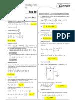 Física - Caderno de Resoluções - Apostila Volume 2 - Pré-Universitário - Física2 - Aula10