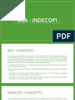 Bsa - Indecopi