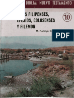 Conoce La Biblia 10 - Filipenses Efesios Colosenses Filemon
