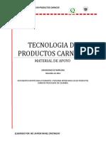 Tecnologia de Productos Carnicos 2012
