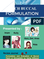 Buccal Patch