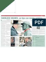 Sherlock Holmes, un tipo con mucha química