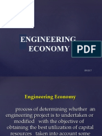 Engineering Economy - EE