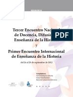 3er Encuentro Nacional Docencia Imprimible