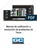 W450311D SPA Insight Terex Calibration Troubleshooting Spanish