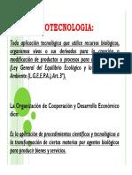La Biotecnología - Impacto ambiental