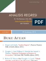 Analisis Regresi Biologi Revisi