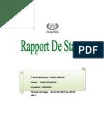 Rapport de Stage  - Réseaux Informatiques