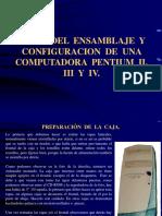 Ensamblaje y Configuración de Pentium II, III y IV (2)