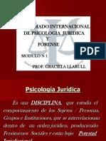 MODULO 1 - La Psicologia Juridica - Graciela Llarull (1)