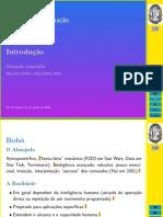 Robótica e Automação - Aula 01 - UFRJ