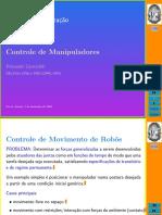 Robótica e Automação - Controle de Manipuladores