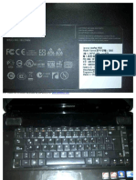 Datos de Teclado Lenovo Ideal Pad y560